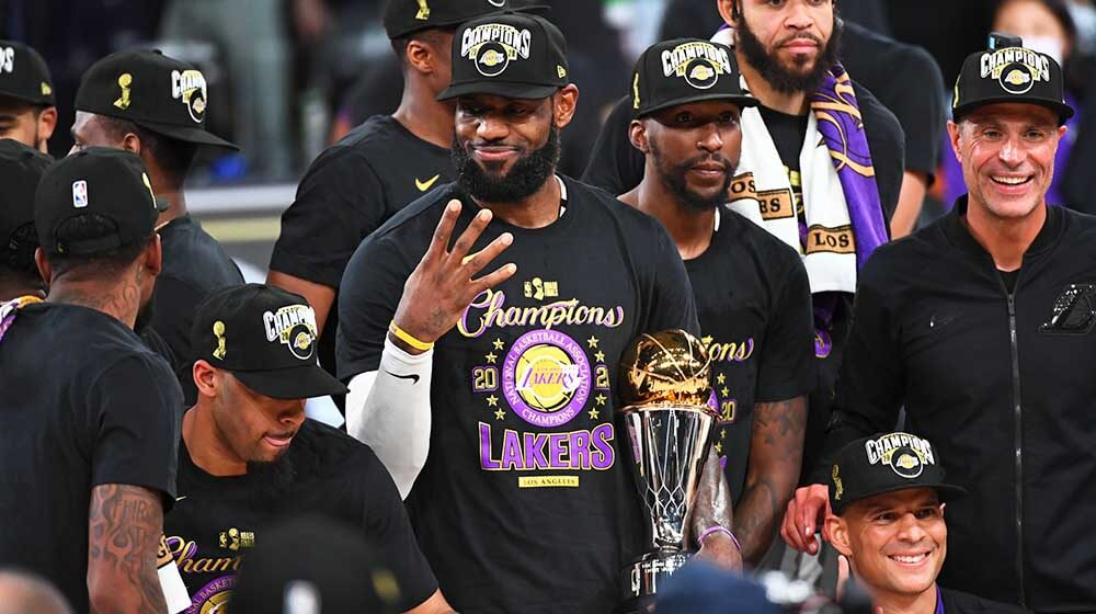 NBA 2020: LA Lakers beat Miami Heat; LeBron James proved to be a lucky charm again