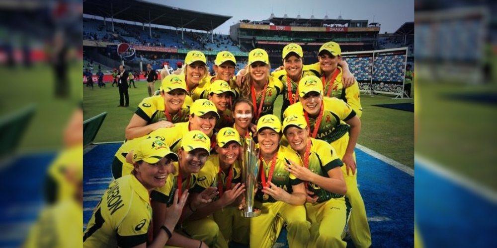 Australia won third straight ICC Women's World T20 in 2014