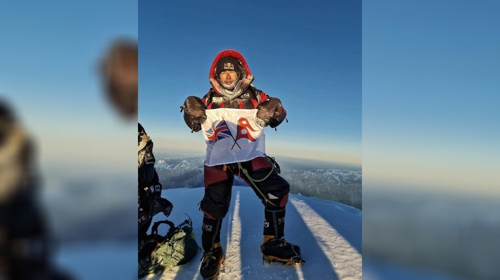 Nirmal Purja completes world's first summit of K2 in winter, the last great mountaineering challenge