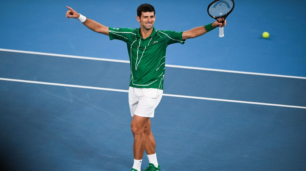 Novak Djokovic: The eighth time winner of the Australian Open