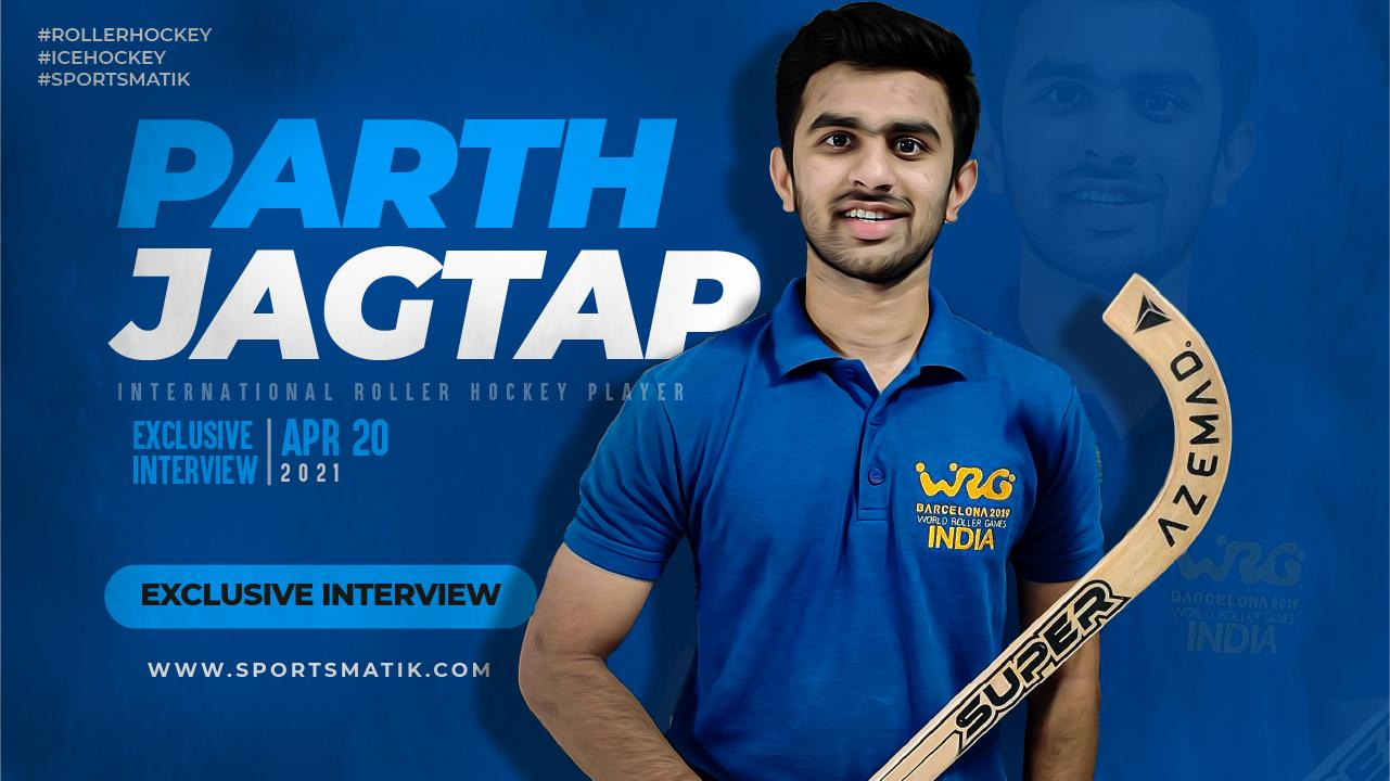 Exclusive interview with Parth Jagtap - India's Rising Roller & Ice Hockey Star