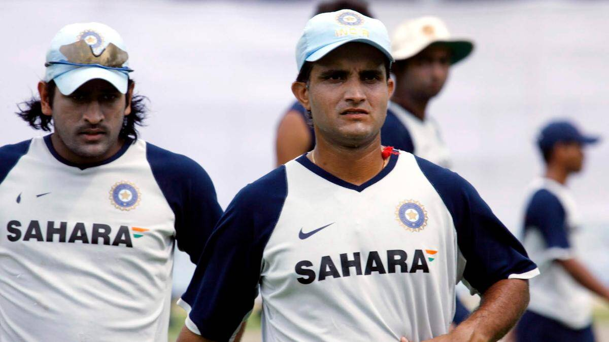 Kiran More revealed how Sourav Ganguly was convinced to allow MS Dhoni keep wickets for India