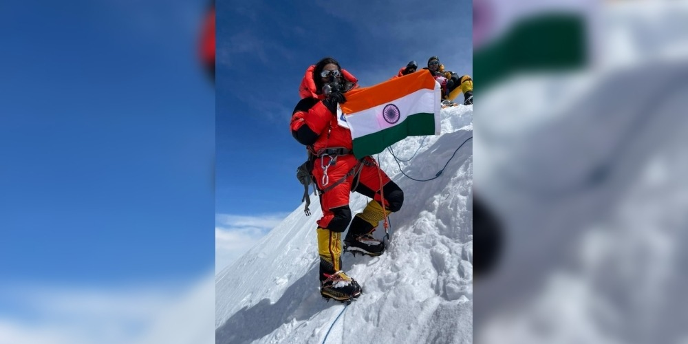 Priyanka Mohite became the first female climber from India to summit Mt. Annapurna