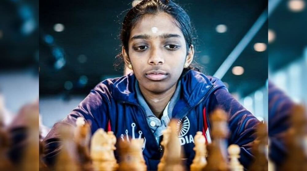 Grandmaster R Vaishali emerged victorious in Asian Online Nations Cup