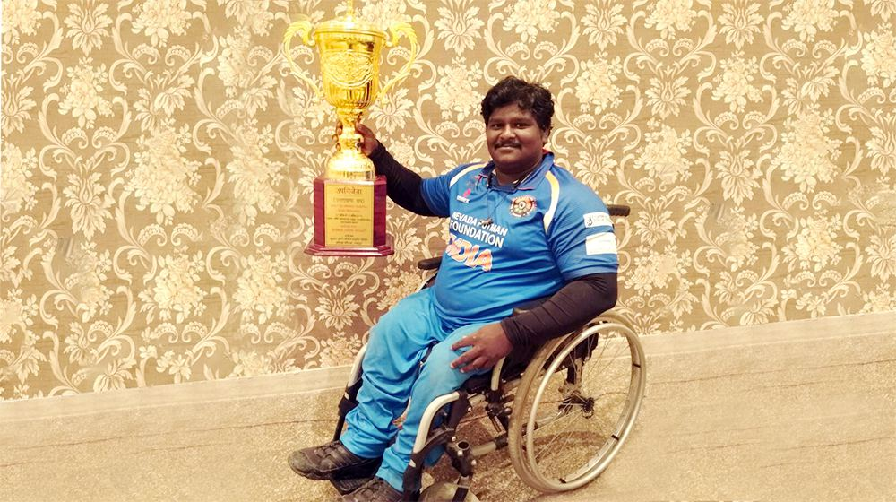 Ramesh Sartape- A Passionate Cricketer who is Beyond Disability!