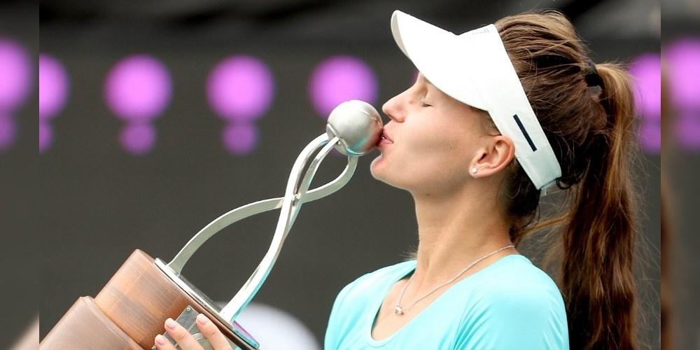 Russia's Veronika Kudermetova claimed Maiden WTA singles title at Charleston Clay Court event