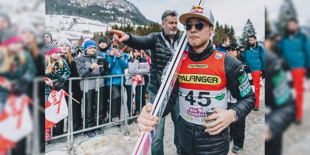 Ryoyu Kobayashi surpassed Japan Men's Ski Jumping World Cup win record; Bagged his 18th Crown