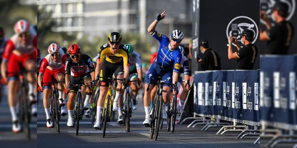 Sam Bennett bags second consecutive stage at UAE Tour
