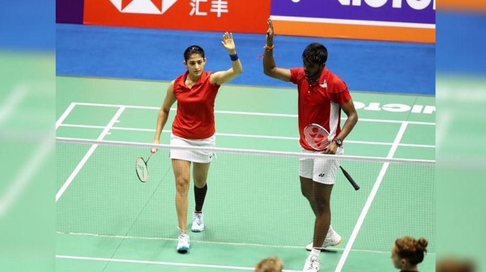 Satwiksairaj Rankireddy-Ashwini Ponnappa jumps to Top 20 BWF Rankings