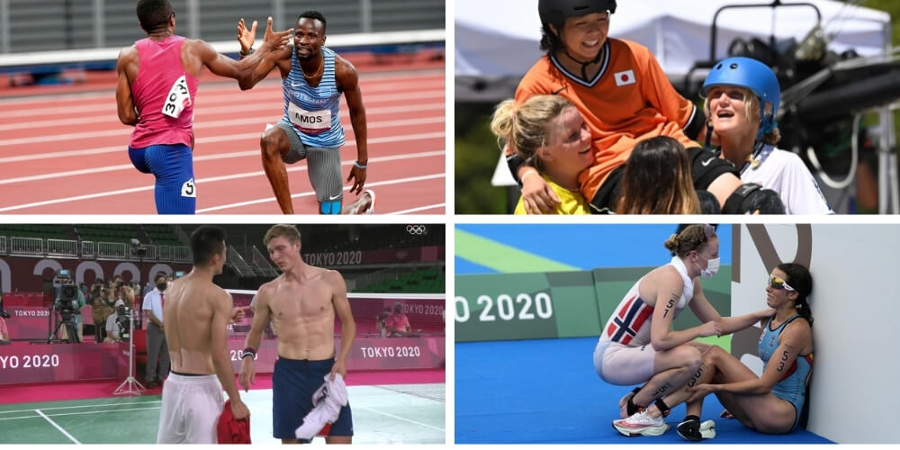 Top Sportsmanship Moments of the Tokyo Olympics