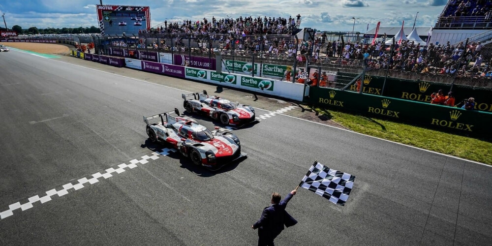 Toyota became the First Hypercar Winners at the Le Mans 24 Hour Race