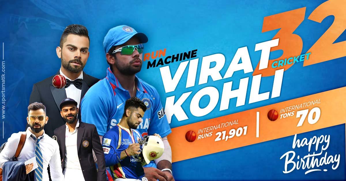Happy Birthday King Kohli: Top achievements of the Indian Skipper & Run-machine