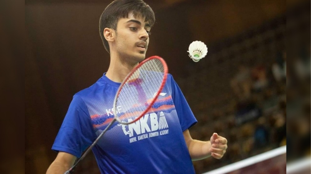 Young badminton star Varun Kapur earned World No. 2 spot in BWF U-19 singles rankings