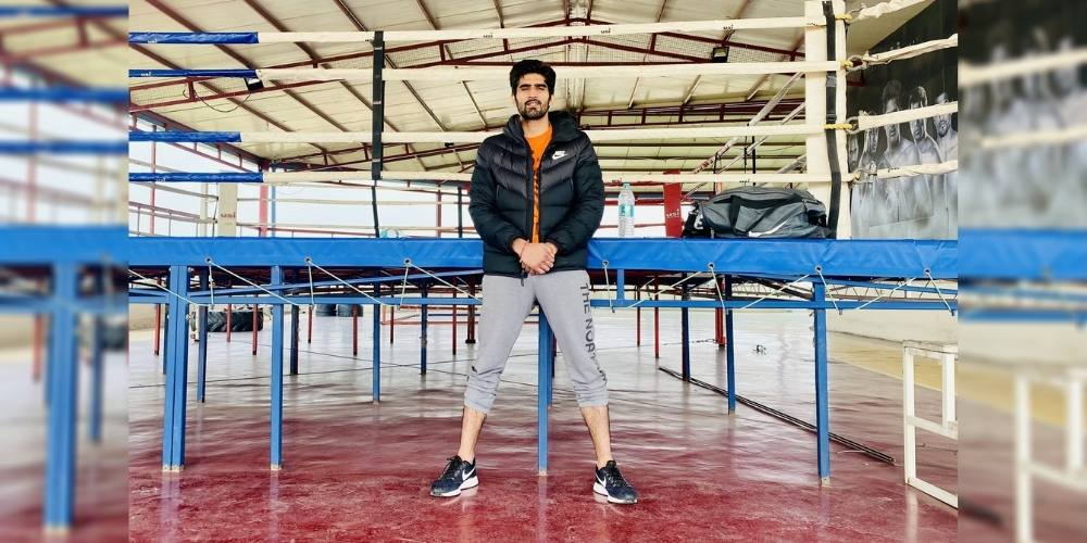 Vijender Singh's most-awaited fight is scheduled on March 19 at a Rooftop Deck of Ship in Goa