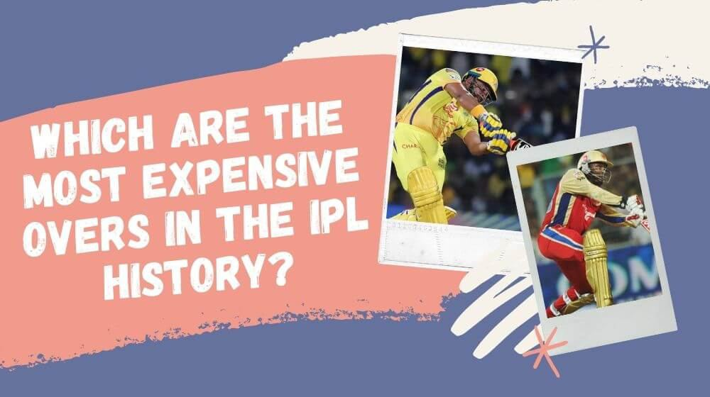 Which are the most expensive overs in the IPL history?