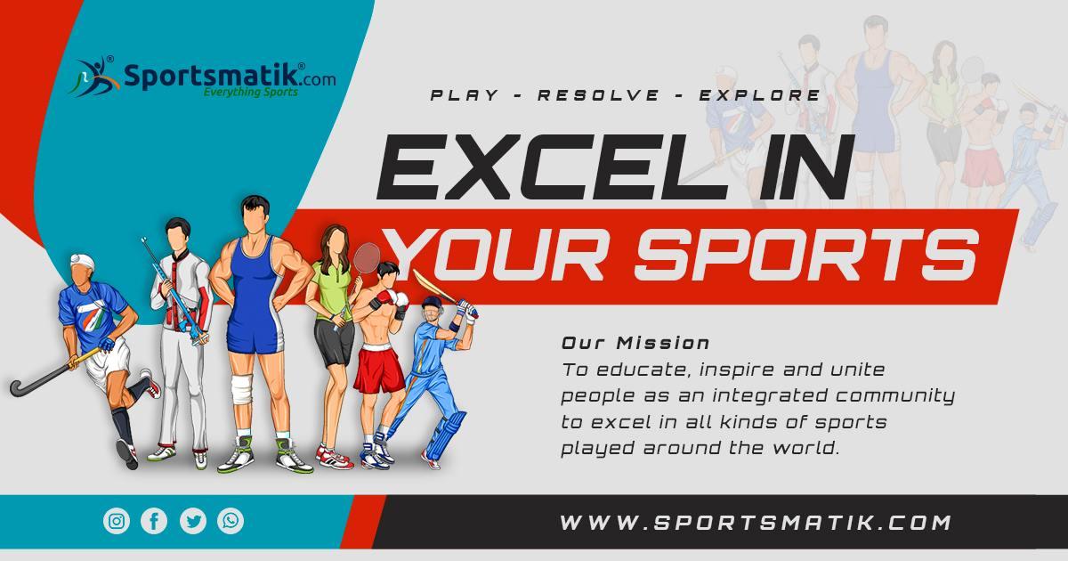 Register at Sportsmatik | Create your sports profile ...