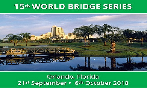 15th World Bridge Series 2018