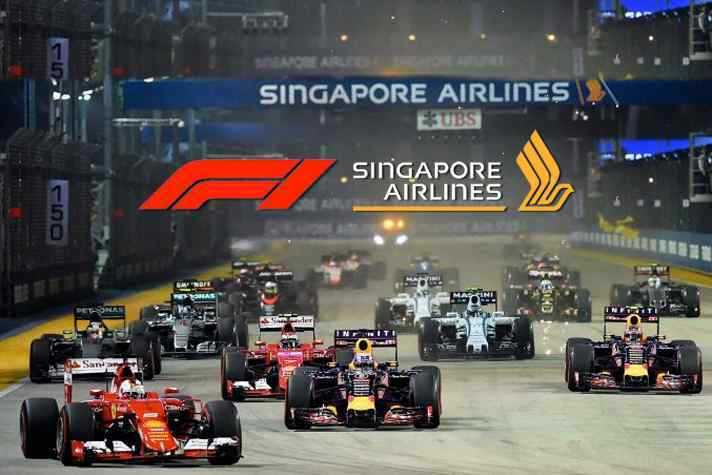 Formula 1 2018 Singapore Airlines Singapore Grand Prix