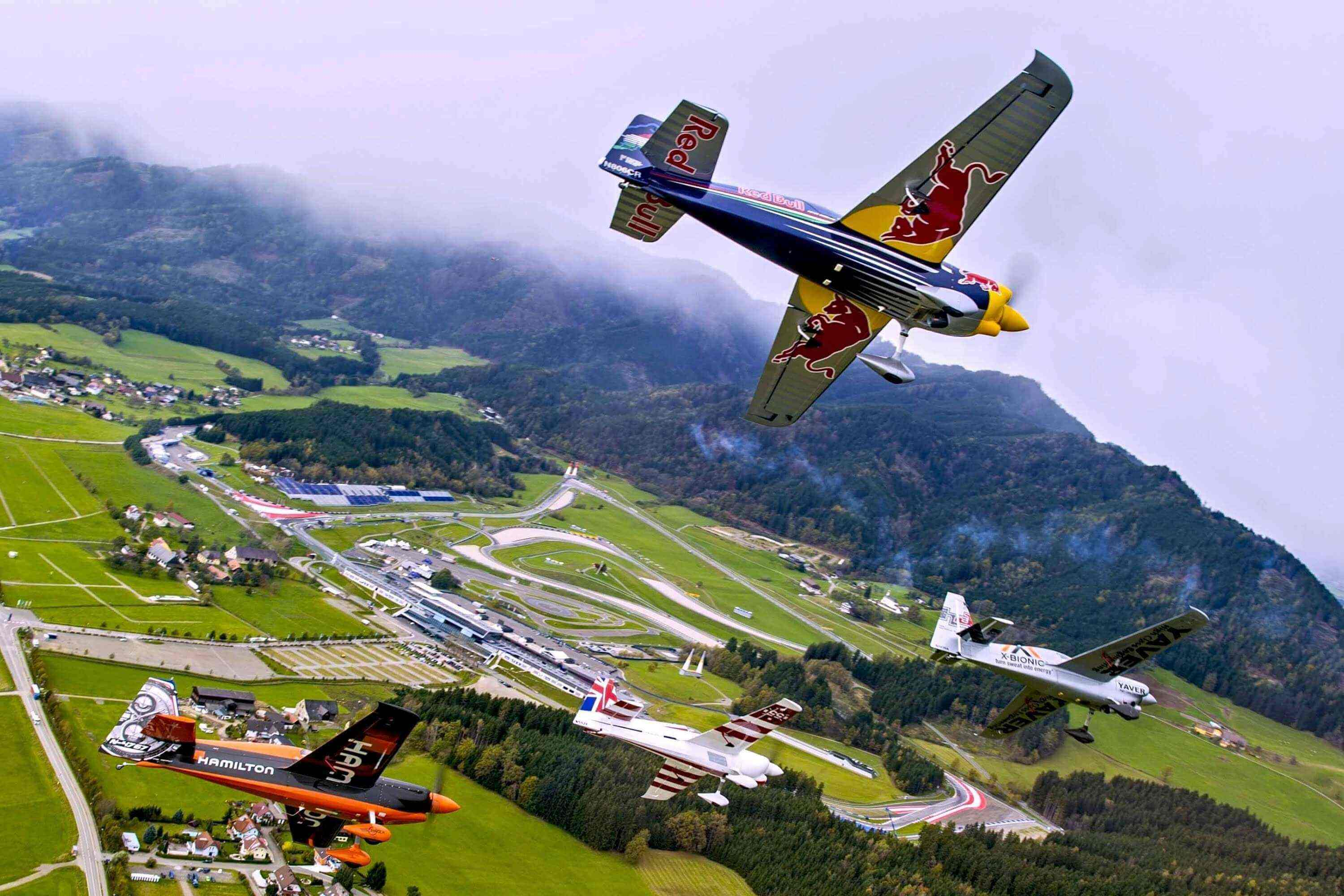 The Red Bull Air Race returns to its Austrian