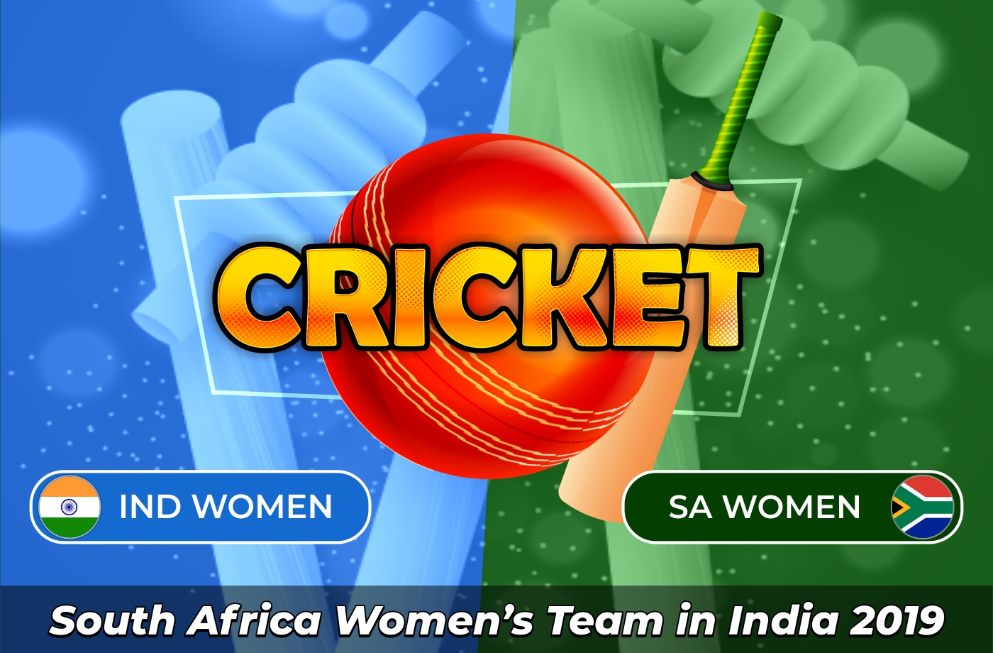South African women's cricket team in India - 2019
