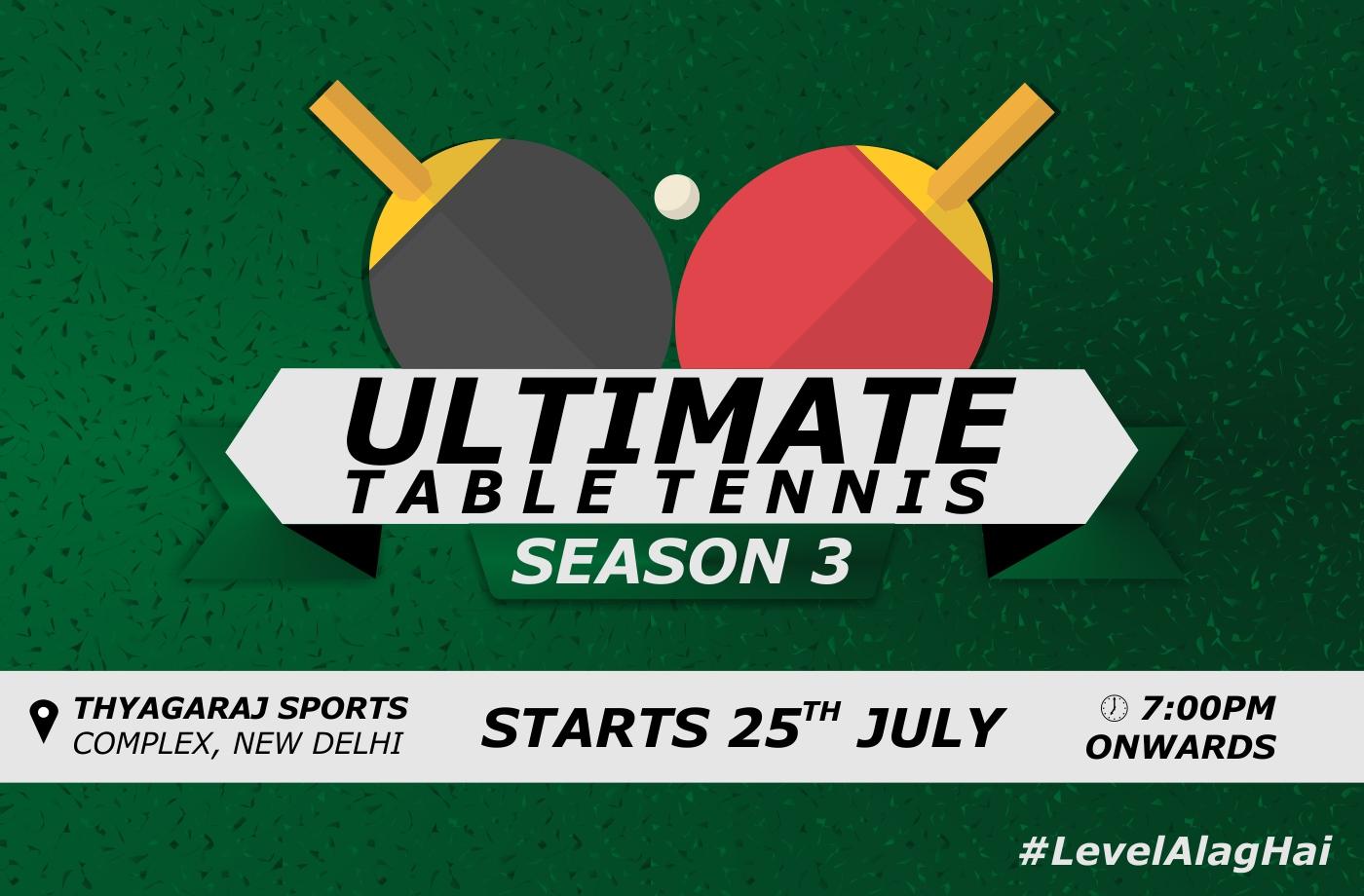 The Ultimate Table Tennis League (Season-3)