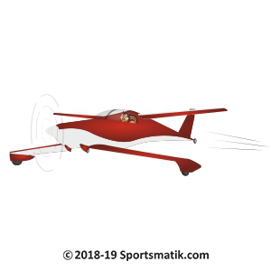 Gillu practicing Air Racing