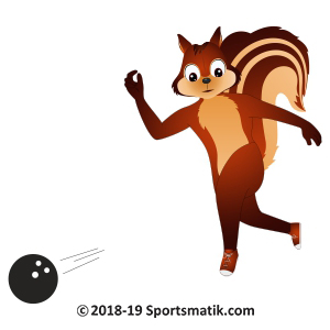 Gillu practicing Bowling