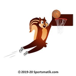 Gillu practicing Basketball