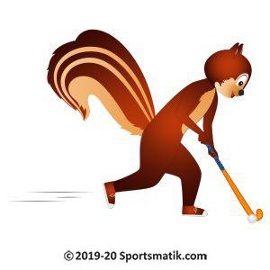 Gillu practicing Field Hockey