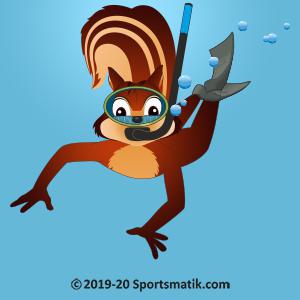 Gillu practicing Scuba Diving