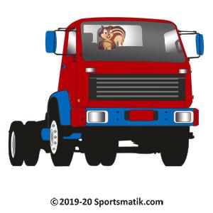 Gillu practicing Truck Racing