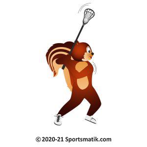 Gillu practicing Lacrosse