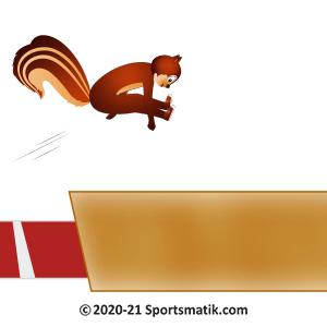 Gillu practicing Long Jump