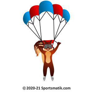 Gillu practicing Paragliding