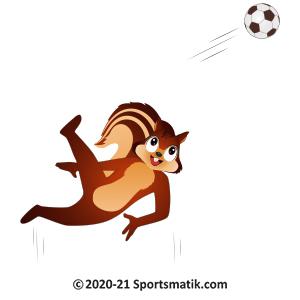 Gillu practicing Soccer