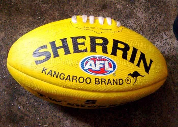 Sherrin brand Australian Football