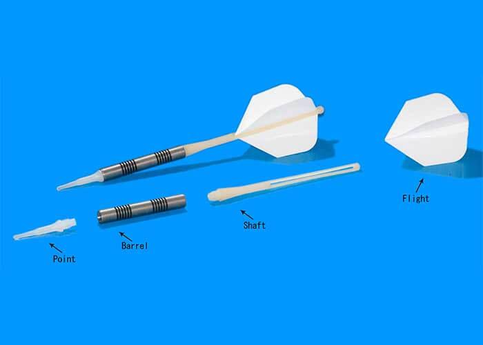 Parts of the dart arrow