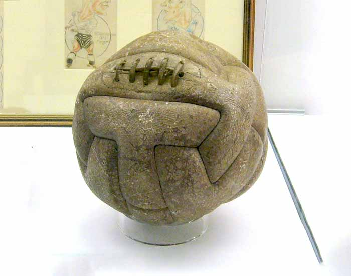 Football used during the 1930 World Cup Final