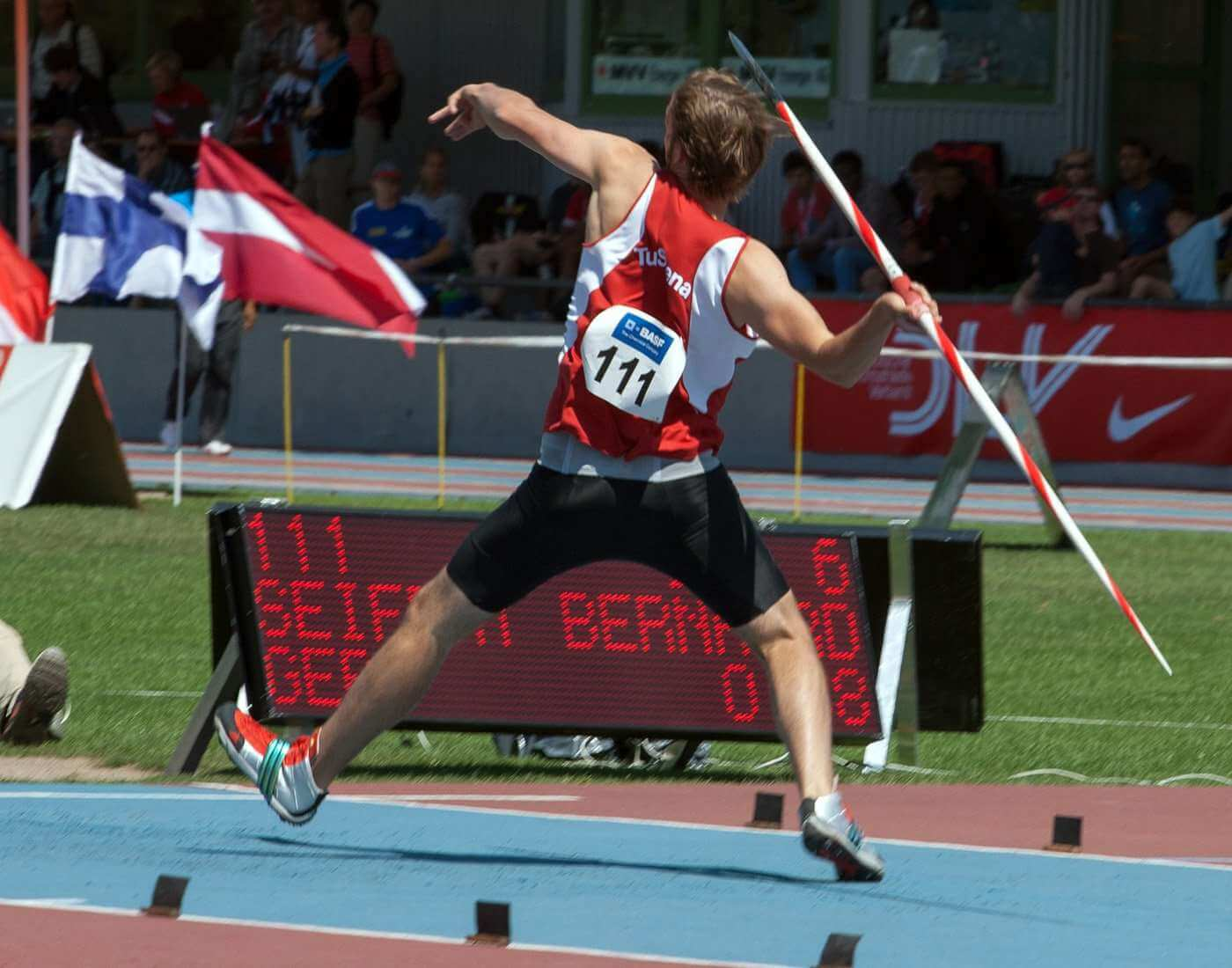 Javelin Throw athletics