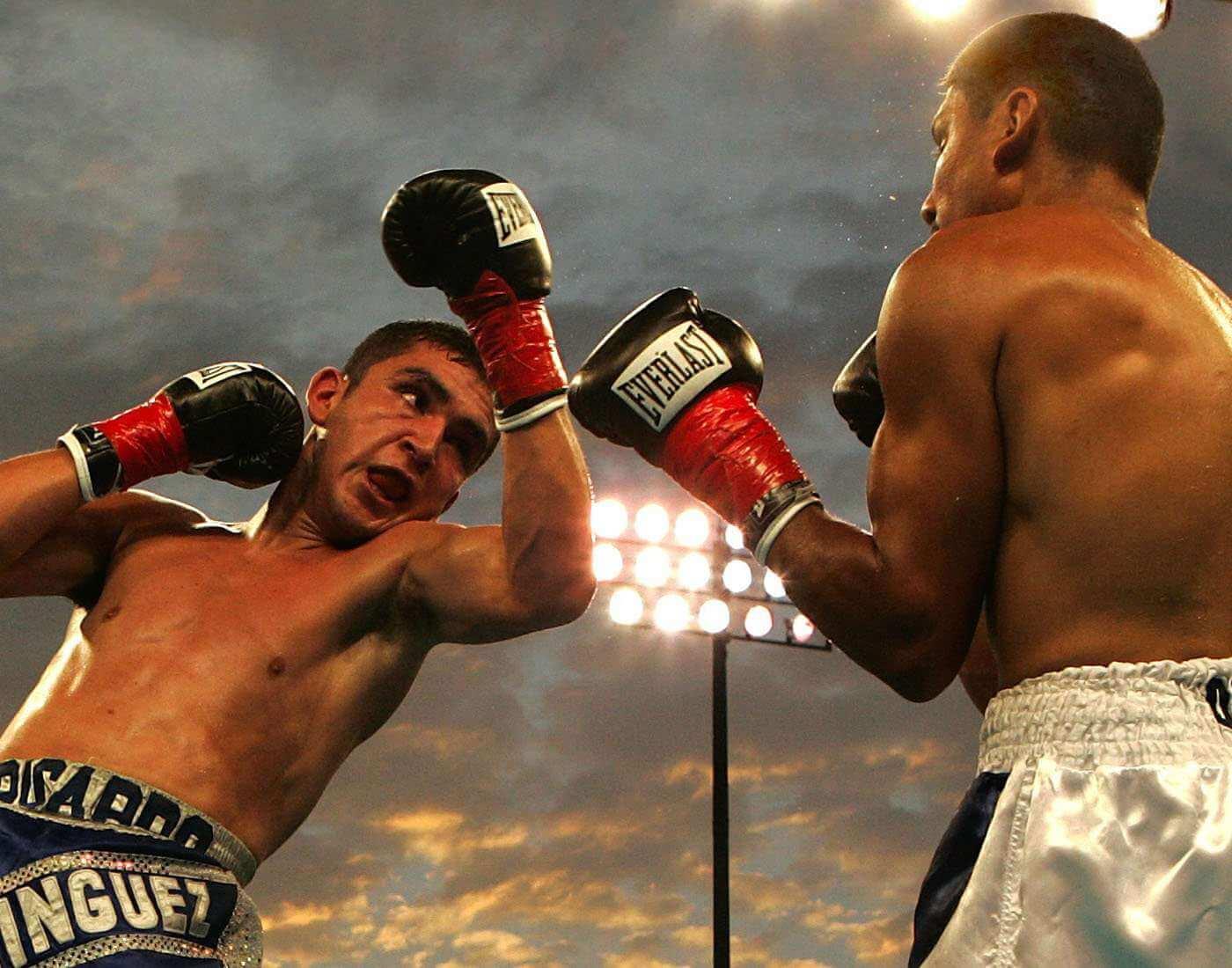 Boxing combat sport