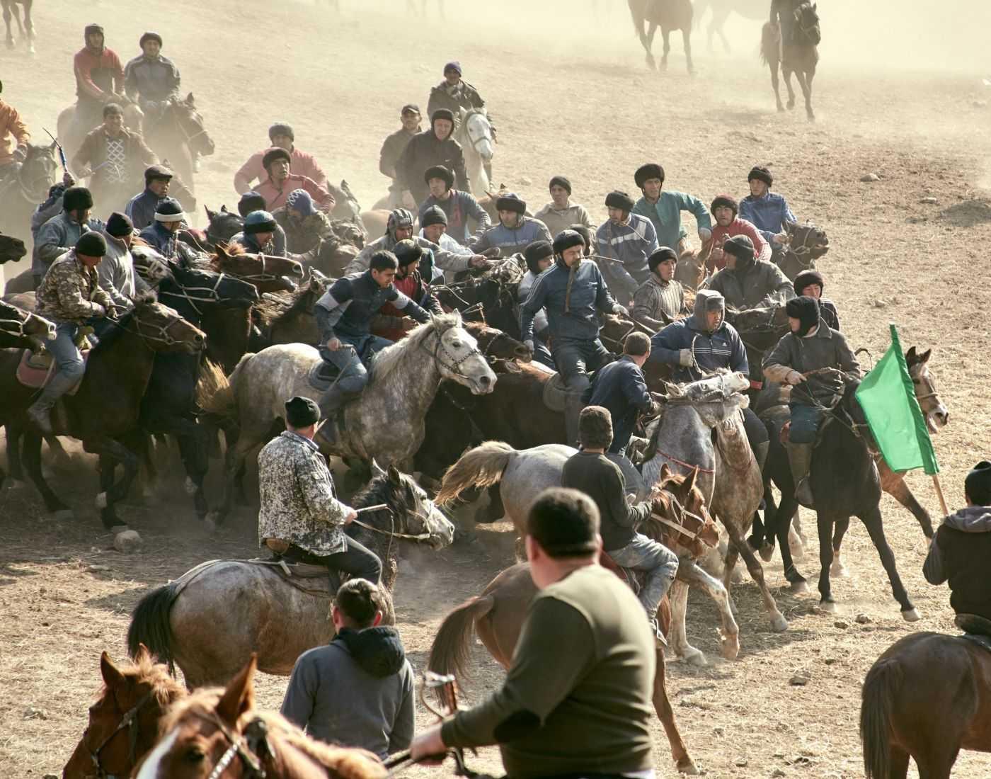 Buzkashi national sport of Afghanistan