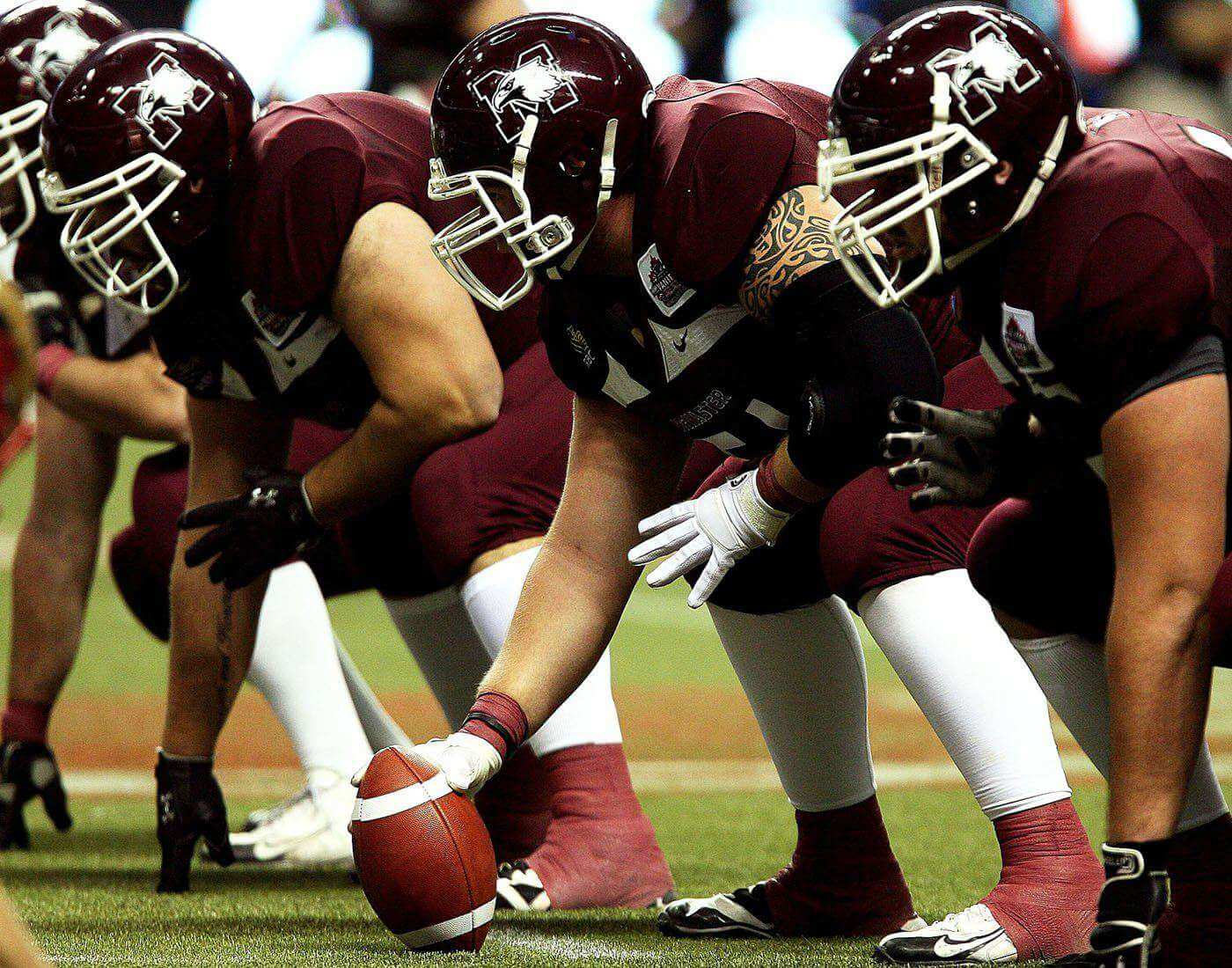 Canadian Rules Football gridiron football