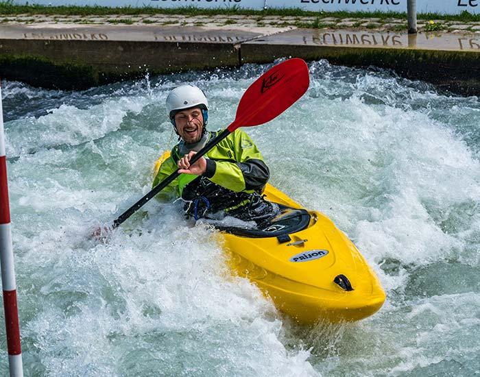 Whitewater Canoe Slalom