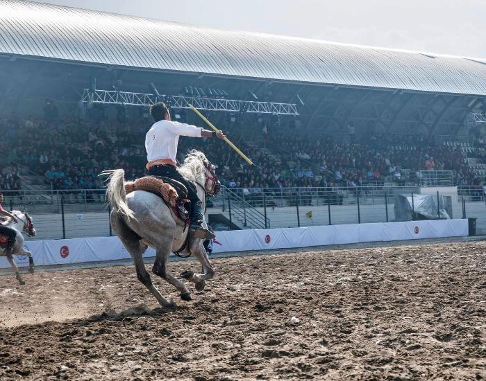 Cirit traditional equestrian sport