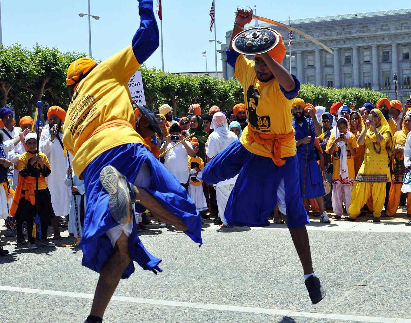 Gatka Sikh martial art.
