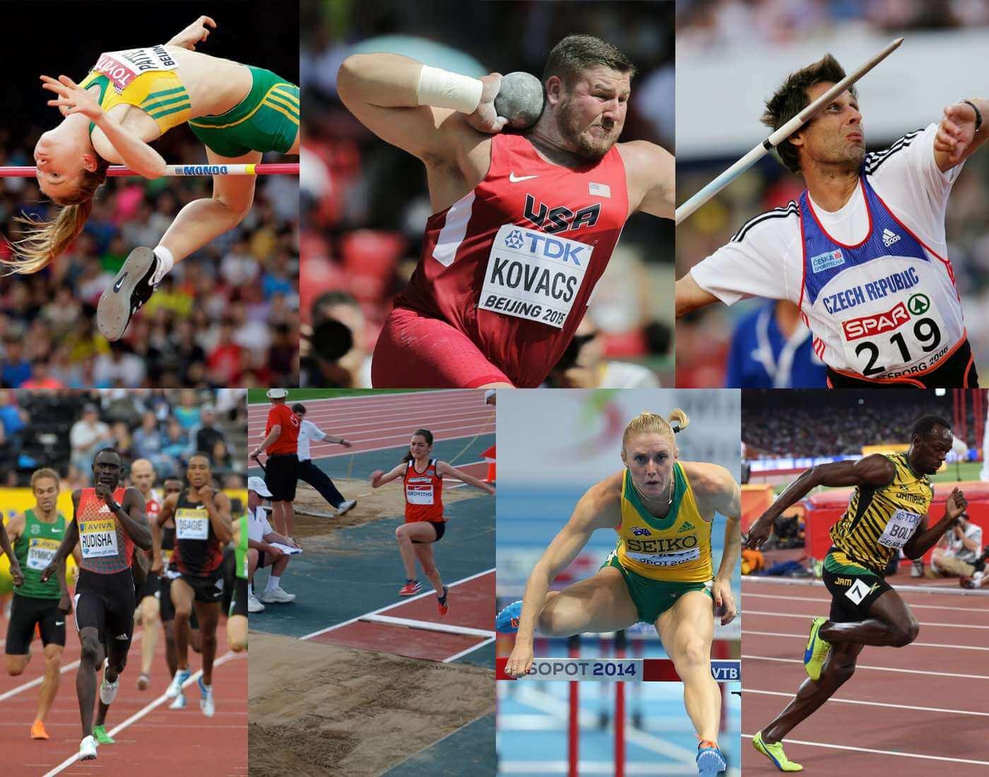 Heptathlon athletics