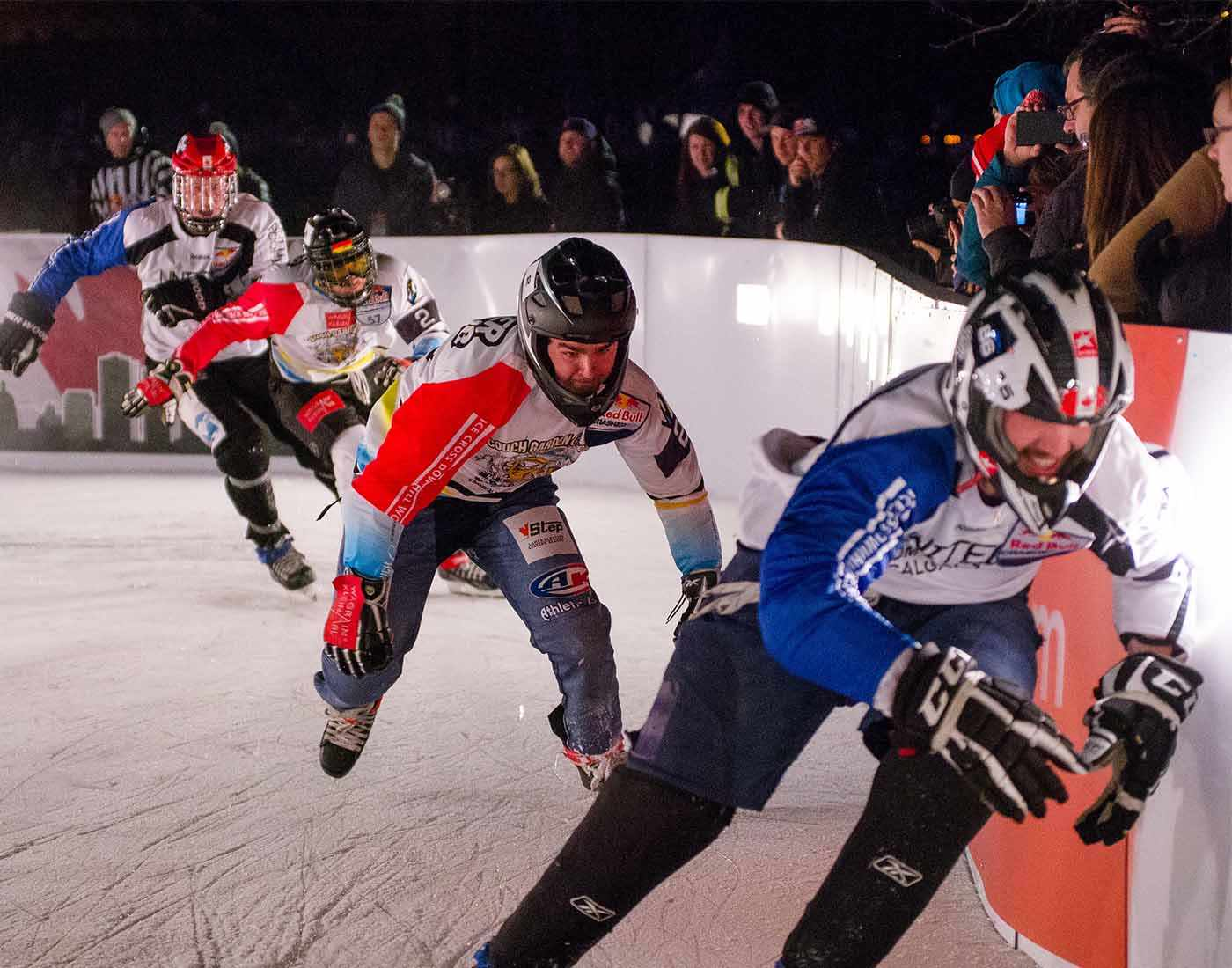 Ice Cross Downhill