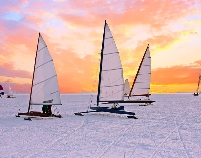 Ice Sailing Sports