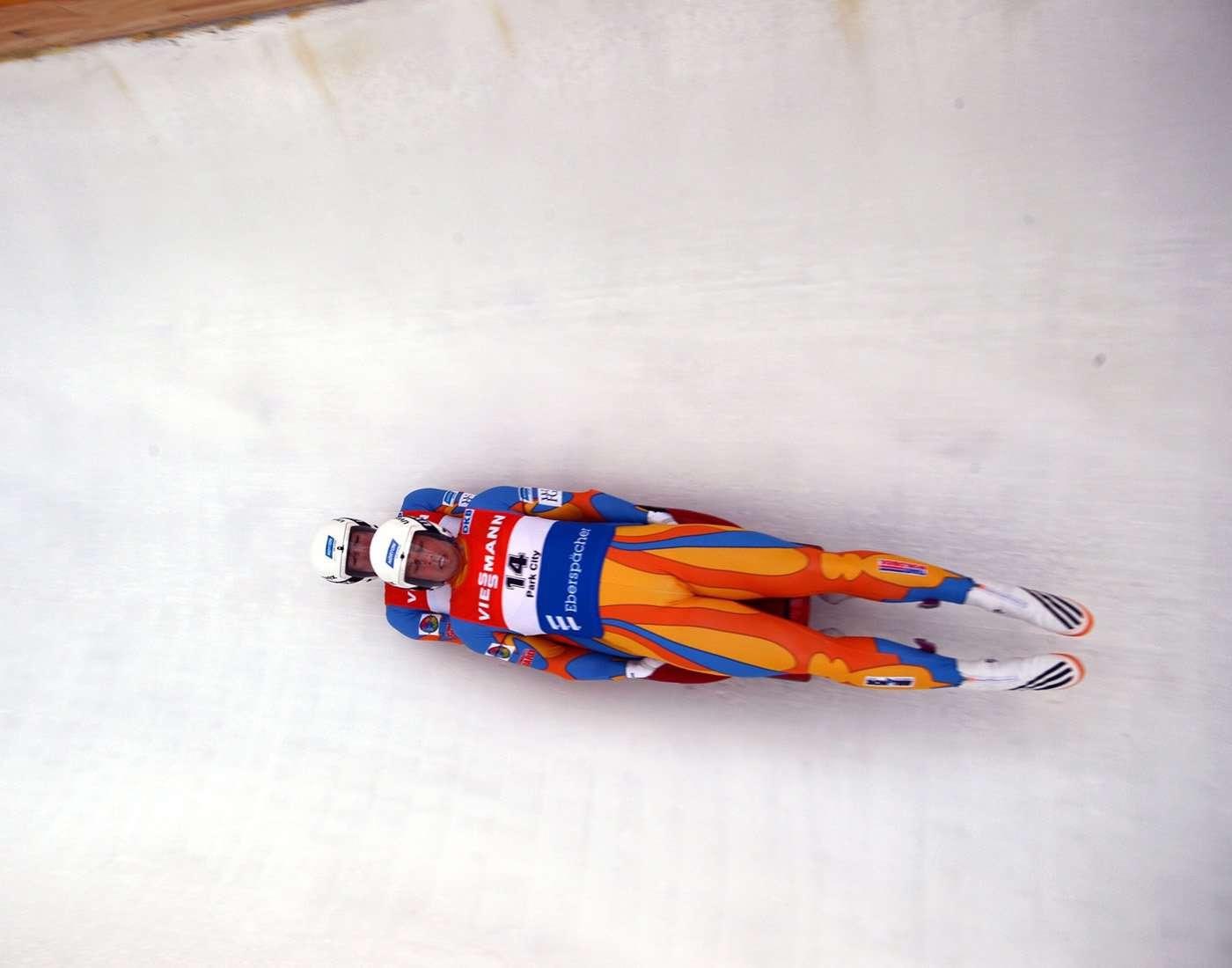 Luge winter sport