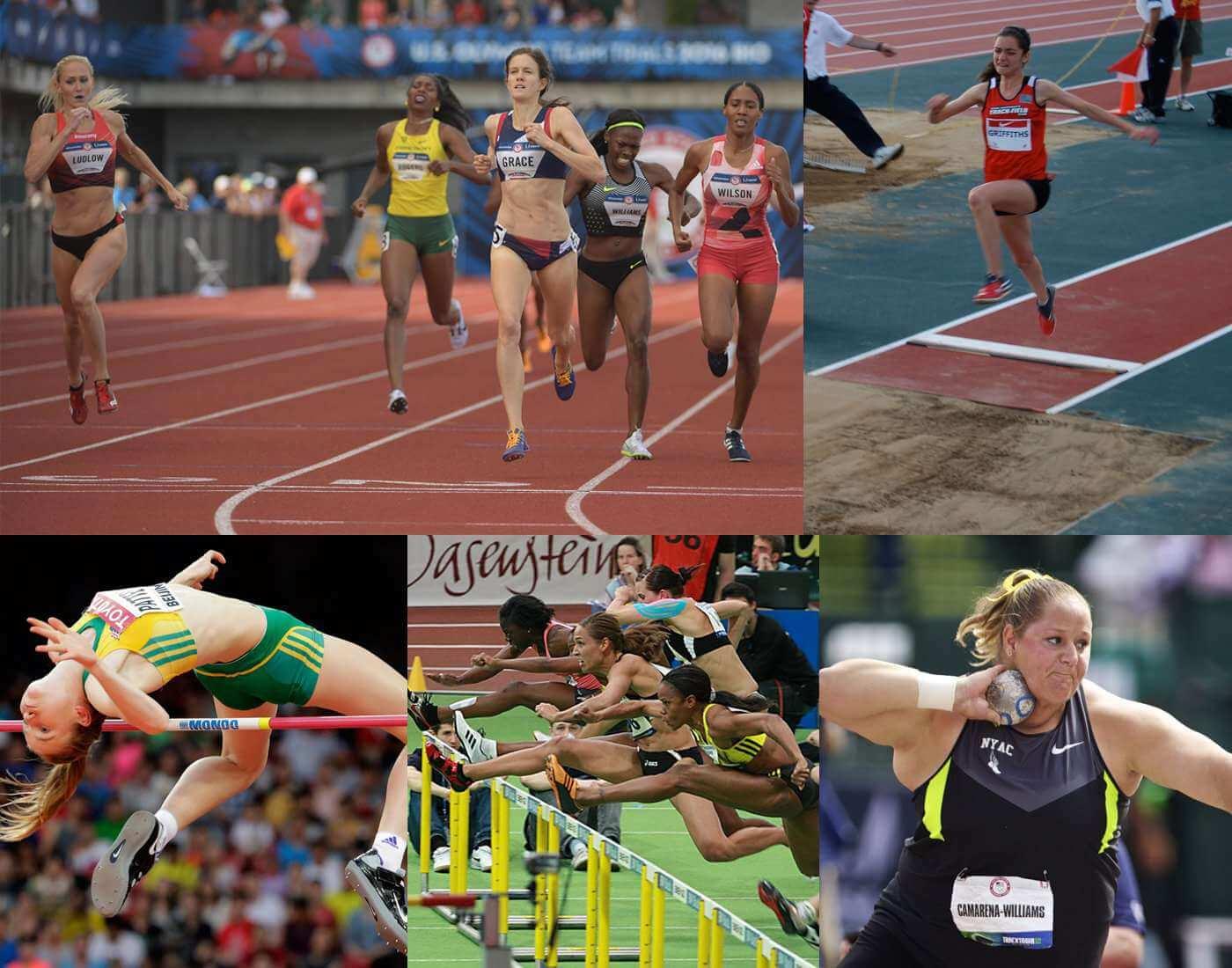 Pentathlon athletic